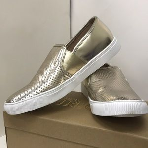 Kaley-01 Perforated Slip on Sneakers